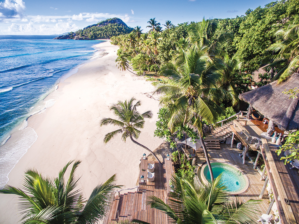 North Island in the Seychelles